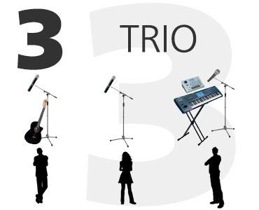 Trio Música para fiestas